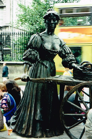 Molly Malone. Dublin, Ireland.