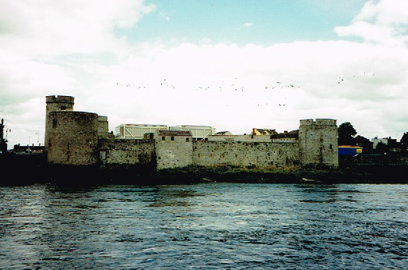 King John;s Castle. Limerick, Ireland.
