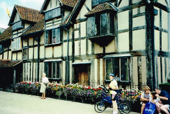 Stratford upon Avon. Shakespear's Birthplace.