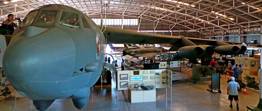 B52 at The Darwin Aviation Museum. Darwin also has a WWII Museum.