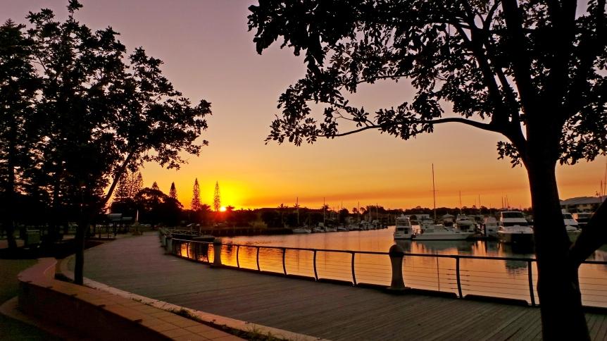 Redland Bay Sunset, Brisbane.