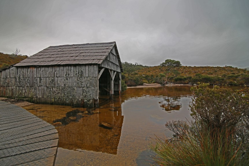 Dove Lake Boathouse, Cradle Mountain