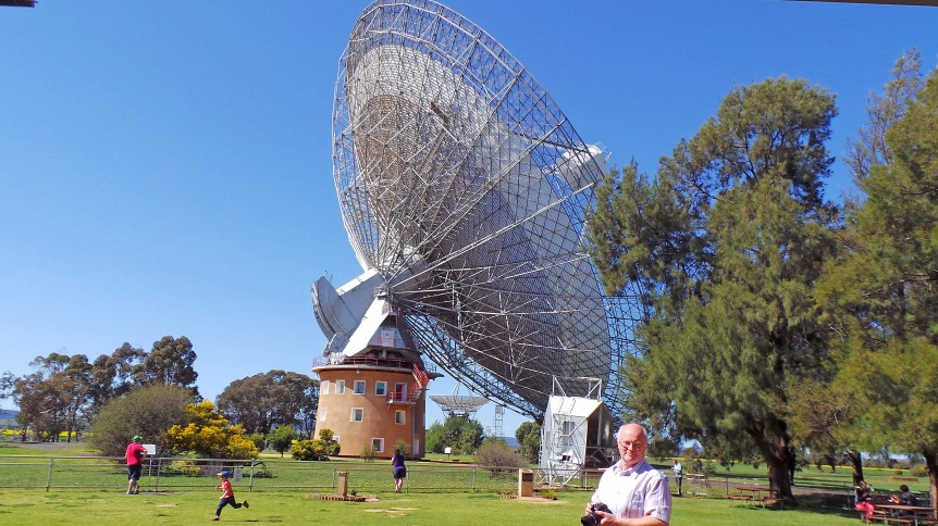 The Dish.  Subject of  the movie of the same name portraying the role of The Dish in NASA's Apollo moon landing.