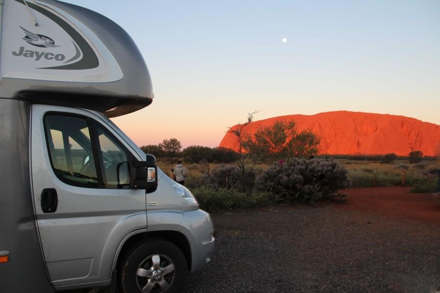 Uluru, perhaps Australia's most identifiable icon.
