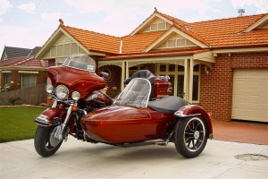 Harley Davidson Ultra Classic and Sidecar
