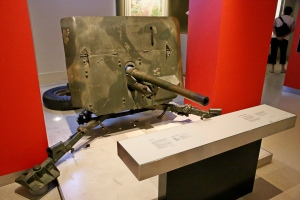 The 2 inch canon built at GMH Woodville.