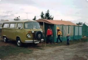 4 1975 VW Microbus