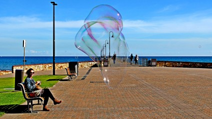 Bubble Glenelg Jetty