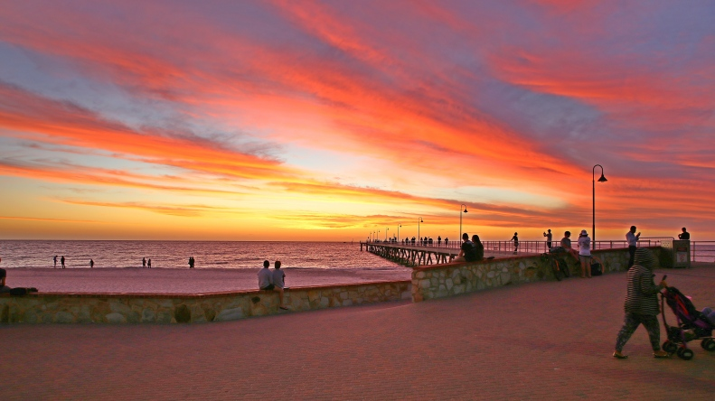 Glenelg Sunset 14 Mar 16
