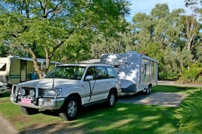 Landcruiser and Jayco Sterling